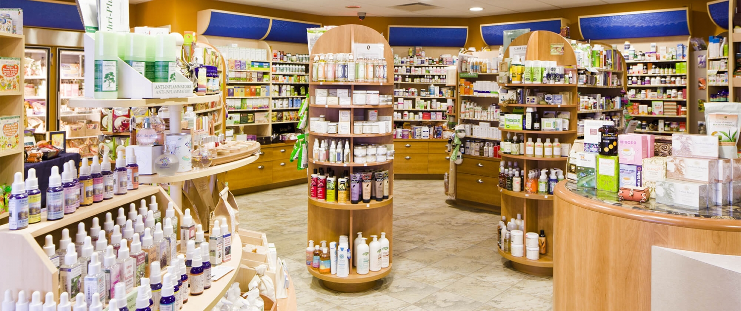 Boutique produit naturel Clinique Denyse Lessard